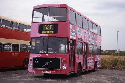 Black Prince of Morley Buses and Coaches 1987- 1996
