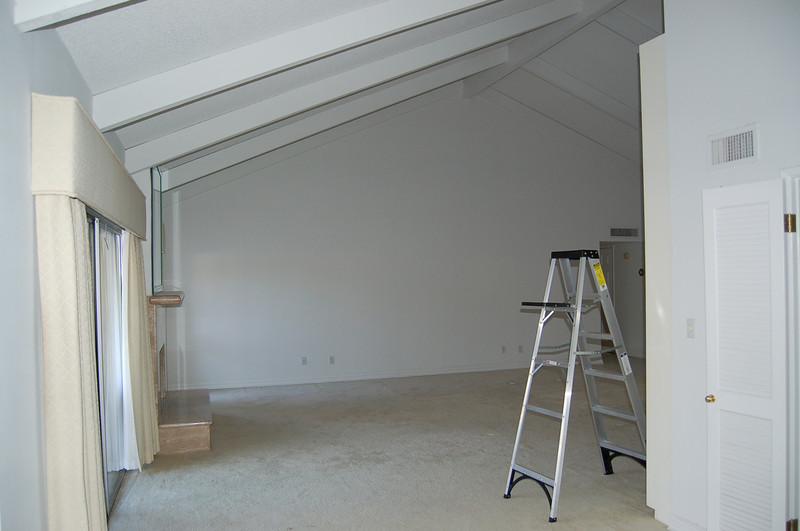 Another view of the living room from the dining room.
