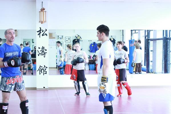 Kickboxing Workshop With William McGlothlin 12.03.11