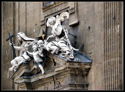 Florence - Piazza San Firenze, Bargello, Badia Fiorentina