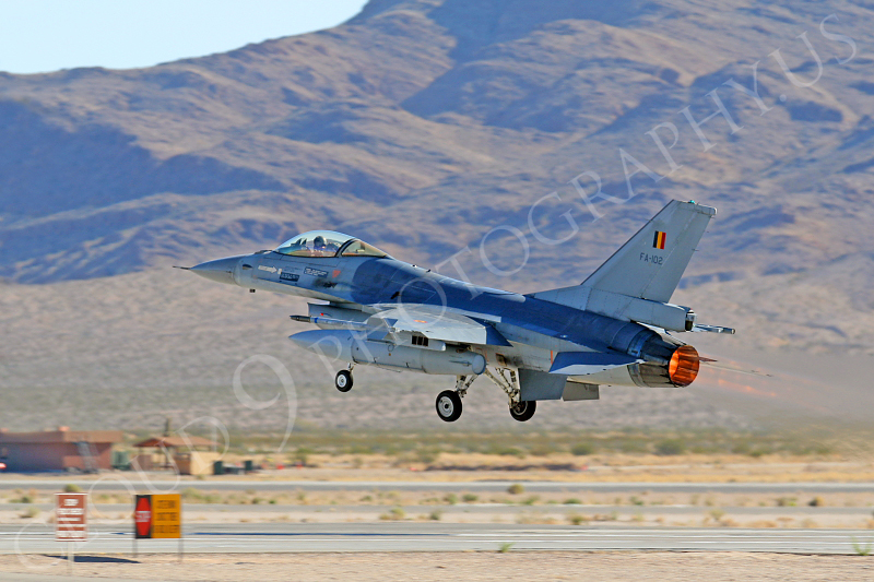 AB - F-16FORG 00040 Lockheed Martin F-16 Fighting Falcon Belgum Air Force FA-102 Nellis AFB by Tim P Wagenknecht.JPG