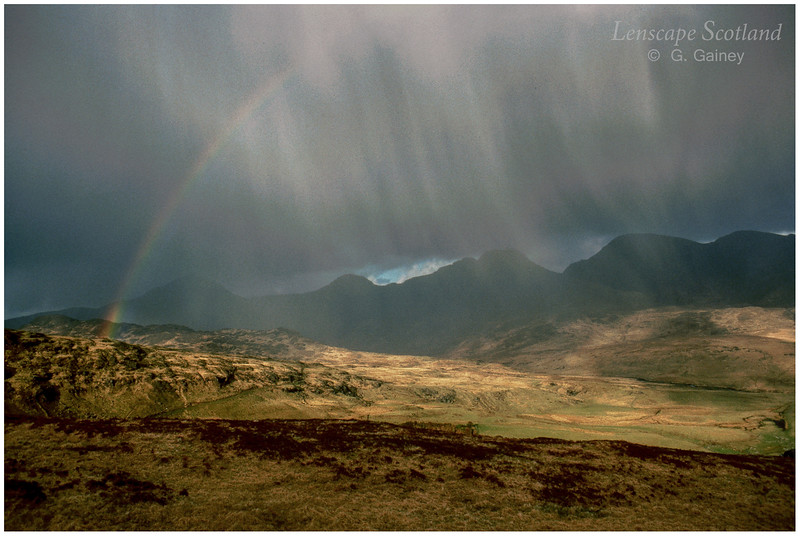 Cloudburst over the Rhum Cuillins (1986)