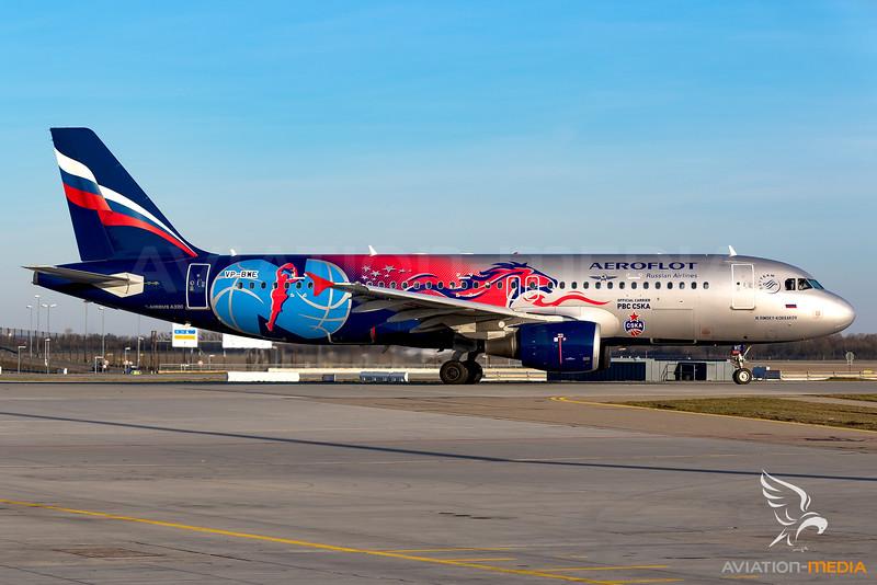 Aeroflot / Airbus A320 / VP-BWE / PBC CSKA Moscow