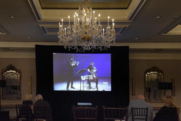 Jan 14, 2021 Chamber Music Society presents Paul Huang, Violin and Edward Arron, Cello