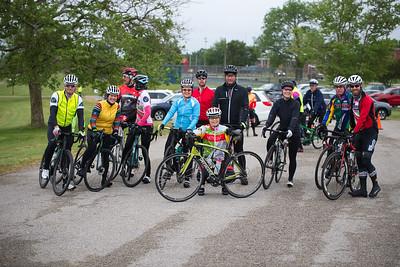 Charles Brooking Park Start of Ride - Saturday