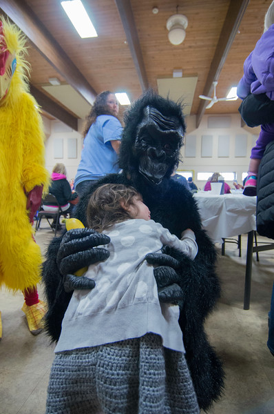 Nora and the Easter Gorrilla
