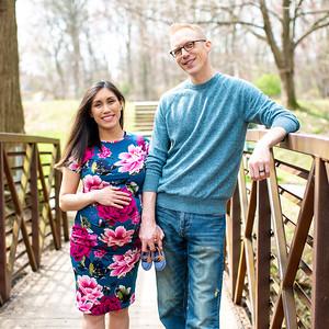 Andrea & KJ's Maternity Portraits Quick Picks