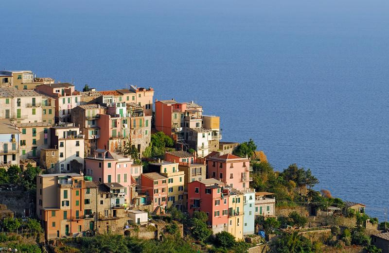 Village of Corniglia, Cinque Terre (Italy)