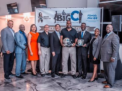 J100 and Jacksonville Jaguars Colorectal Cancer Event Aug 28, 2017
