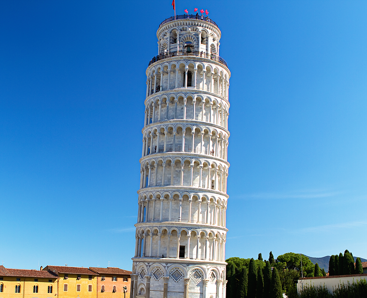 """The Leaning Tower of Pisa"", Pisa, Italy"