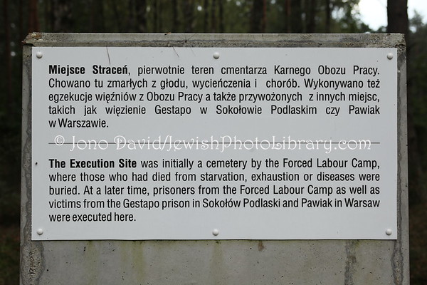 POLAND, Treblinka. Treblinka I (one) extermination camp. (9.2011)