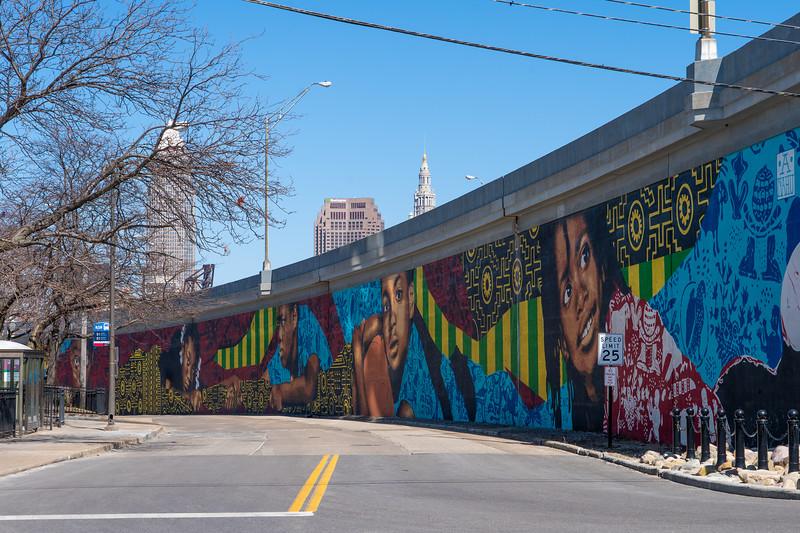 Detroit Shoreway mural