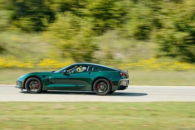 Green C7 Corvette