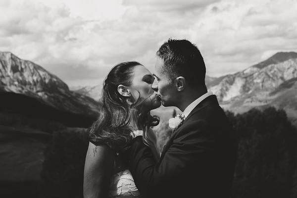 Lindsay & Lubos Wedding BW