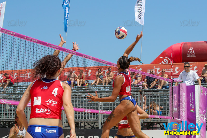 Lega Volley Summer Tour 2019 21^ Coppa Italia di Sand Volley 4x4 Fase a gironi e fase ad incroci Marina di Vasto (CH) - Sabato 6 luglio 2019