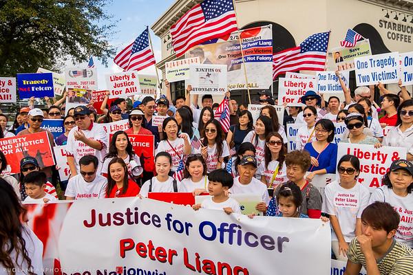 Houston Rally for Peter Liang