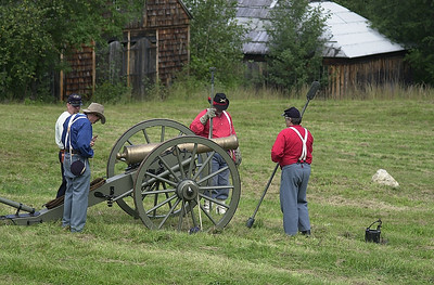 Monroe NY Museum Village Civil war reenactment 2006