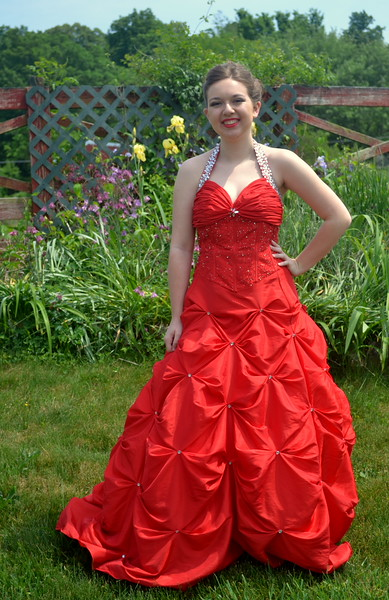 Alexis Barbour...Barren County High School Prom May 9, 2015