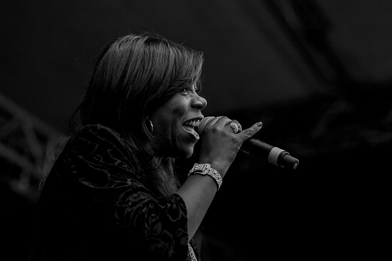 Jaki Graham at Jack up the 80s 2018