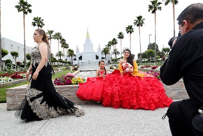 For Catholic quinceaneras, Oakland's Mormon temple is place to be