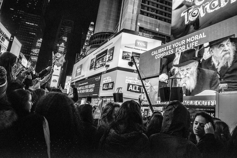 C-Teen Shabbaton Times Square kids from around the world0020.JPG