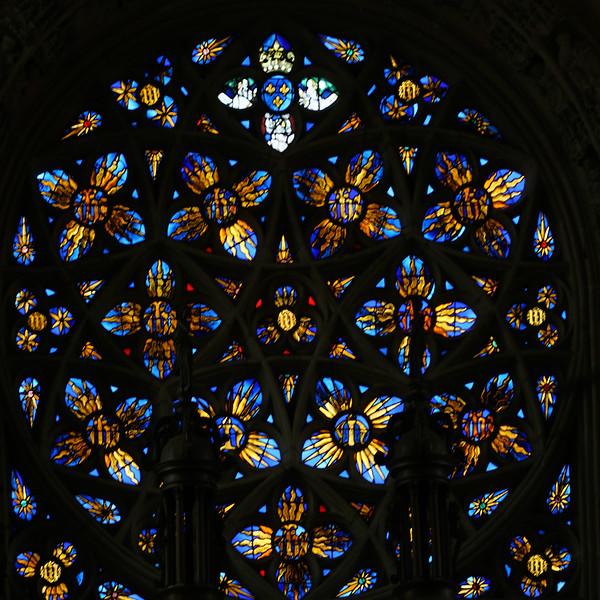 Caudebec-en-Caux - The Rose Window (1530).