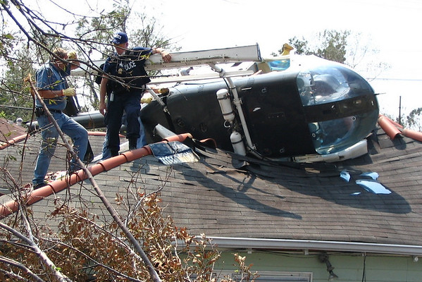 Wayne Police Officers at Hurricane Katrina