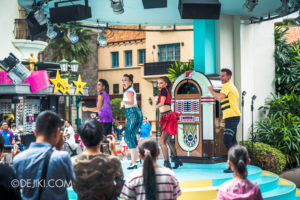 Universal Studios Singapore Park Update Aug 2018 / The TurnTables