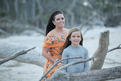 Keirstyn, Kristina and Justin, Little Talbot Island
