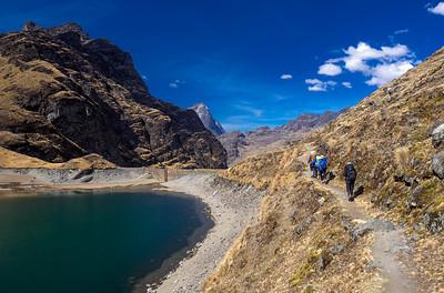 Bolivianische Wasserspeicher - Juli 2016