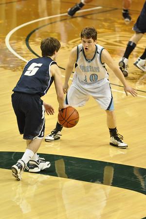 Corvallis vs. Wilsonville Boys Playoff Basketball