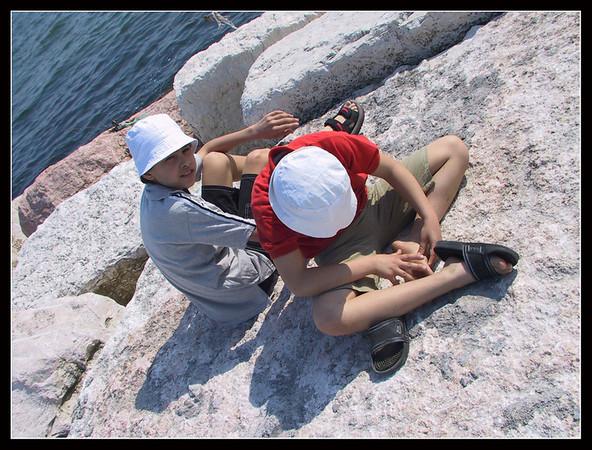 2003 - vacanza a Chioggia, Sottomarina, Treviso