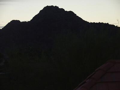 Squaw Peak  Sunrise