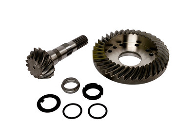 DEUTZ AGROTRON 135 150 165 170 CARRARO AXLE FRONT CROWN WHEEL AND PINION 37T 14T