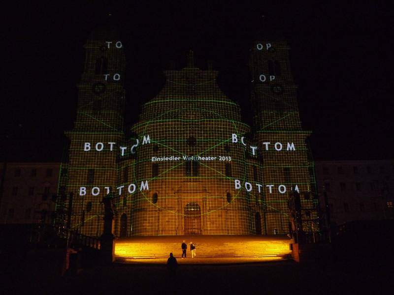 @RobAng 2013 / Welttheater Einsiedeln / Kloster Einsiedeln, Einsiedeln, Kanton Schwyz, CHE, Schweiz, 905 m ü/M, 2013/07/06 23:25:20