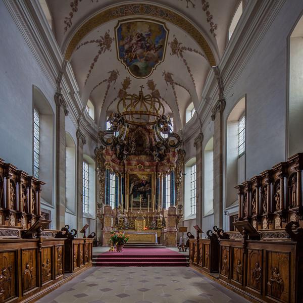 Ebersmunster Abbey Church Baldacchino