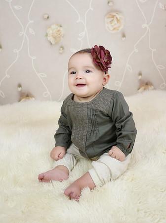 Miss Brantley 6 Month Peeks