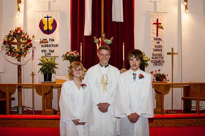 2012 St Pauls Confirmation