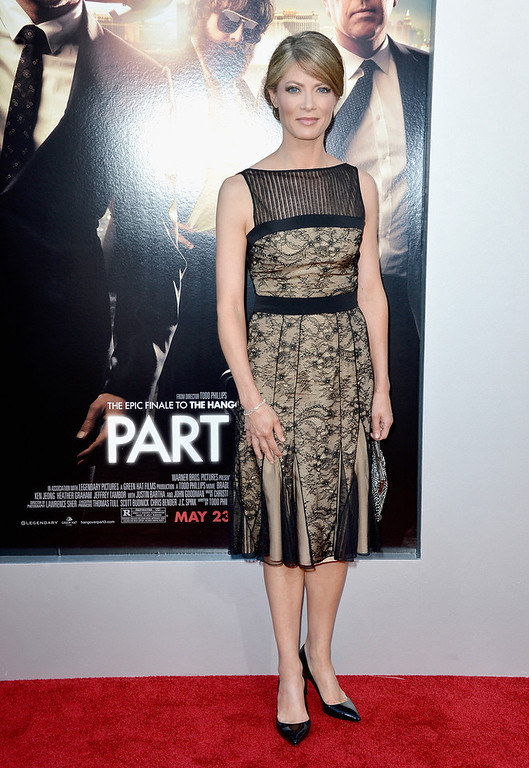 """. Actress Gillian Vigman  attends the premiere of Warner Bros. Pictures\' \""""Hangover Part 3\"""" at Westwood Village Theater on May 20, 2013 in Westwood, California.  (Photo by Frazer Harrison/Getty Images)"""