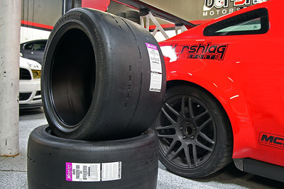 S197 Mustang wheel and tire testing