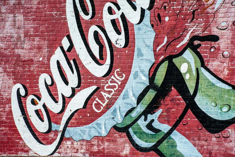 GA, Hoboken - Coca-Cola Wall Sign 03