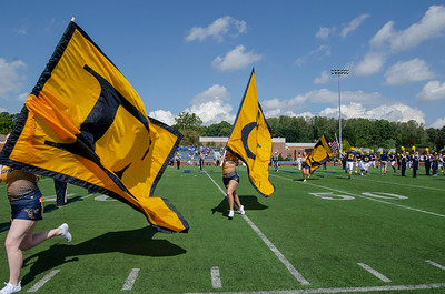 E&H Band and Flags 2018