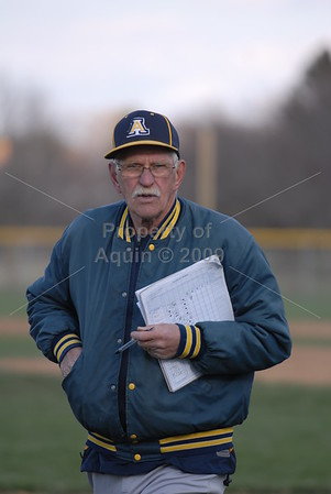 varsity baseball v. orangeville . 4.15.14