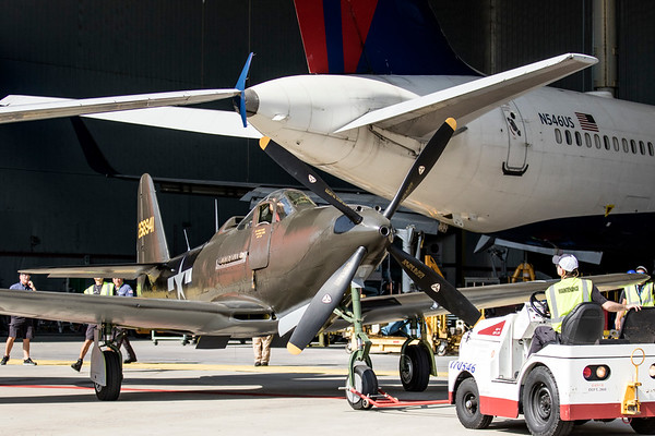 Dixie Wing TechOps P-63 SuperCobra Repaint