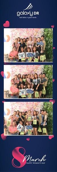 Galaxy DR   Women's Day March 8 instant print photo booth in Ho Chi Minh City   Chụp hình lấy liền Sự kiện 8 Tháng 3   Photobooth Saigon