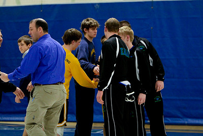 Wrestlers and Seniors with Parents