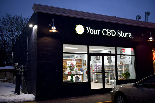 12/5/2019 Mike Orazzi | StaffrYour CBD Store products at the Bristol location.