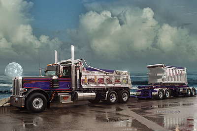 Peterbilt's 50th. Anniversary Show & Shine  Altered Photos