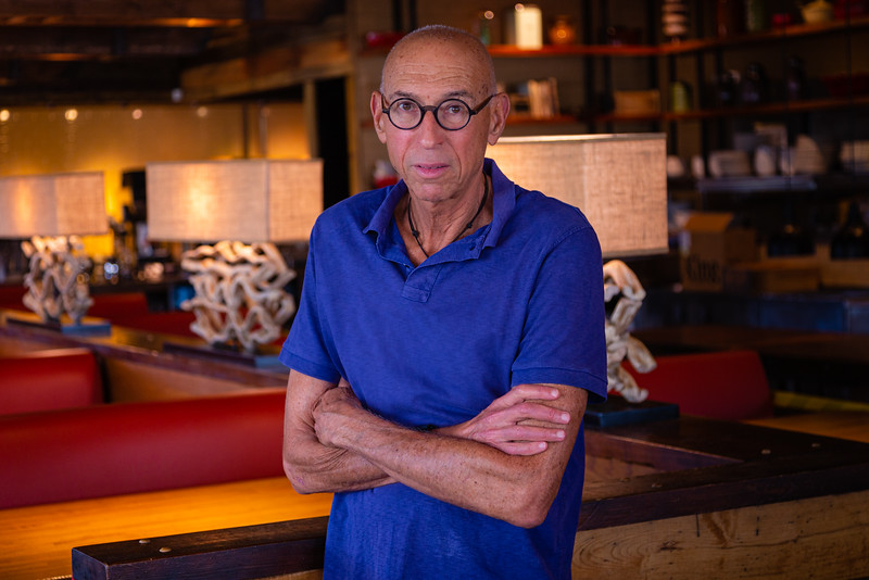 Portrait of the owner of Burt & Max's restaurant in Delray Beach, Burt Rappaport, Wednesday, April 29, 2020. The restaurant will open for takeout, Monday, May 4. [JOSEPH FORZANO/palmbeachpost.com]