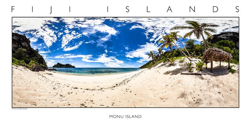 Paradise at Monu Island - Mamanuca Archipelago - Fiji